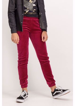 GARCIA-PINK REGULAR FIT TROUSERS-PINK