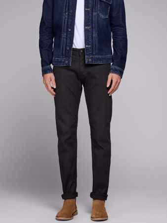 MIKE COMFORT JEANS - BLACK DENIM