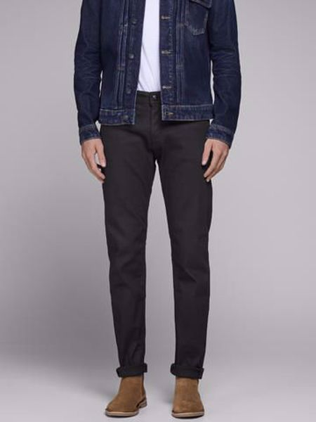 JACK&JONES-MIKE AM 776 COMFORT FIT -BLACK-DENIM
