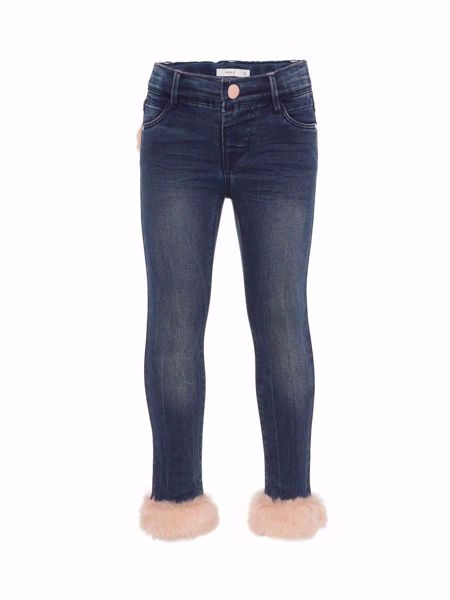 NAME IT-MINI SKINNY FIT LODDEN JEANS-DARK-BLUE-DENIM