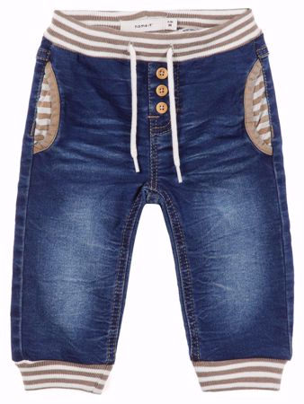 NAME IT-BABY SUPER STRETCHY JEANS-MEDIUM-BLUE-DENIM