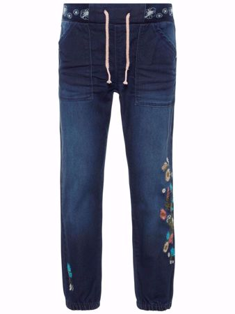NAME IT-MINI POWER STRETCH JEANS-DARK-BLUE-DENIM