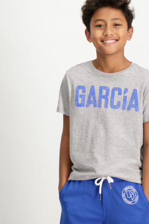 GARCIA-T83620_BOYS T-SHIRT SS-GREY MELEE