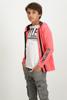 GARCIA-S83468_BOYS SWEAT CARDIGAN-BRICK