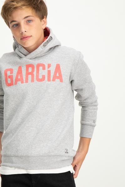 GARCIA-S83475_BOYS SWEAT-GREY MELEE
