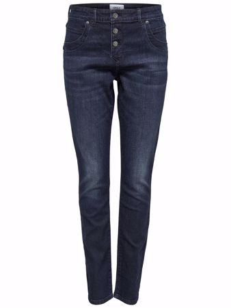 LOOP ANTIFIT JEANS - Dark Blue Denim
