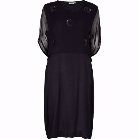 MASAI-OZIA DRESS-BLACK