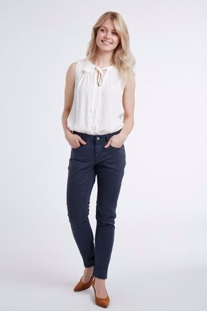Cream-Lotte Twill Jeans  Coco fit-Royal Navy Blue