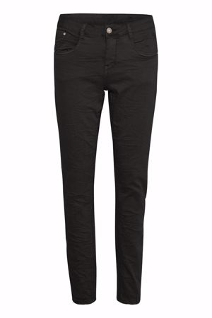 Cream-Lotte Twill Jeans  Coco fit-Pitch Black