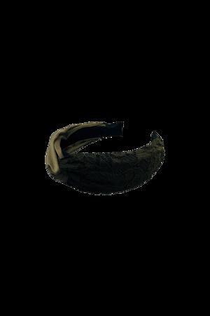 Black Colour-Headband army lace-Army