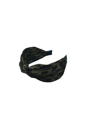 Picture of BLACK COLOUR-HEADBAND MILA LEO ARMY-ARMY