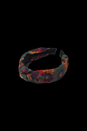 Picture of BLACK COLOUR-HEADBAND FLORES MULTI-MULTI