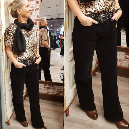 Picture of Soaked in Luxury-Wren Pants-Black