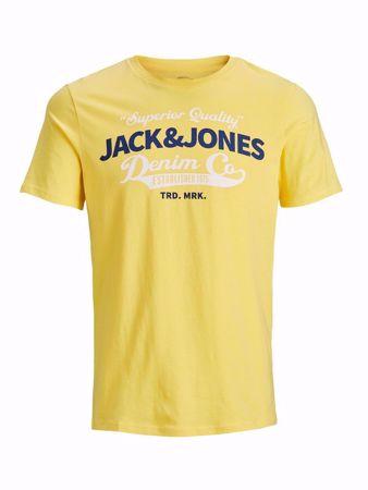 Jack&Jones- LOGO TEE SS -Goldfinch