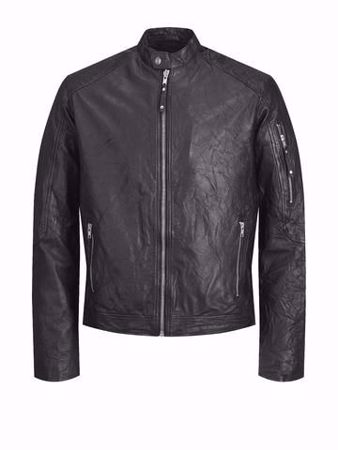 Jack&Jones-RICHARD LEATHER-Black