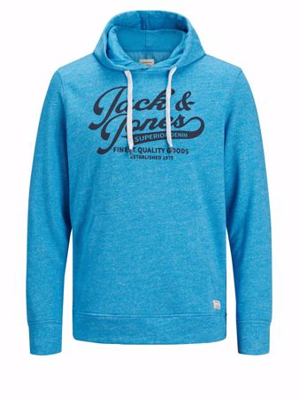 Jack&Jones-PANTHER SWEAT HOOD Hawaiian Ocean