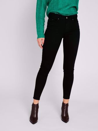 DELLY STAY BLACK SKINNY FIT JEANS - BLACK DENIM