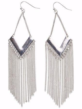 LISBETH øredobber - Silver