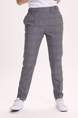 KAFFE-FIE NANCI PANTS-DARK-GREY-MELANGE