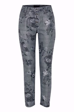 Picture of Pulz-Rosita Skinny Pant Ankle Lenght-Black