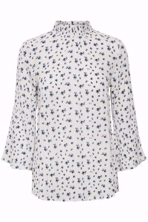 Kaffe-Micha Blouse-Forever Blue