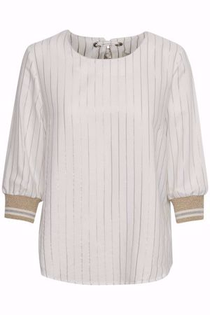 Cream-Alejandra Blouse-Chalk
