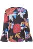 Dranella-Barbara  blouse  All over printed-Black print