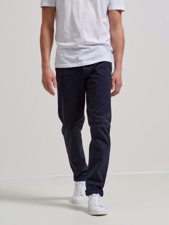 LUCA SKINNY FIT CHINOS - NAVY BLAZER