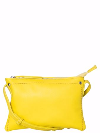 LAUREL CROSS BODY VESKE - Lemon Chrome