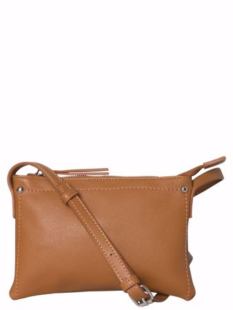 LAUREL CROSS BODY VESKE - Cognac