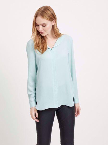 lucy LANGERMET bluse - BLUE HAZE