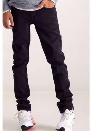 GARCIA KIDS-BLACK SUPER SLIM FIT PANTS-BLACK
