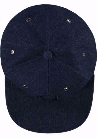 GARCIA KIDS-DENIM BLUE CAP WITH EMBROIDERY-BLUE