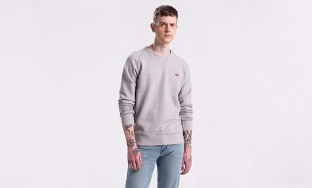 LEVI'S-GRAPHIC HOUSEMARK SWEAT-GREY