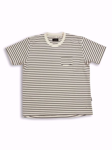 GABBA-POLAR TEE-NAVY-STRIPE