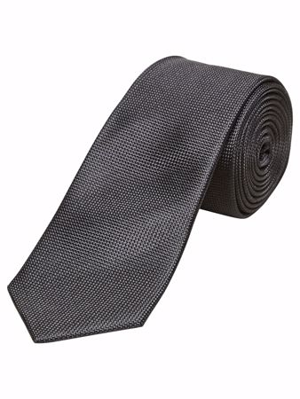 Selected Homme-SLHNEW TEXTURE TIE F-Black