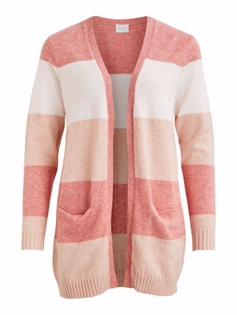 RIL STRIKKET CARDIGAN - Brandied Apricot