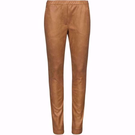 ONE TWO & LUXZUZ-BELLIS PANT-LEATHER