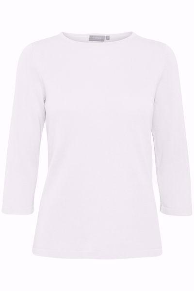 Fransa-FXTIPULLY  Pullover-White