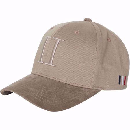 LES DEUX-BASEBALL CAP SUEDE II - KHAKI-KHAKI
