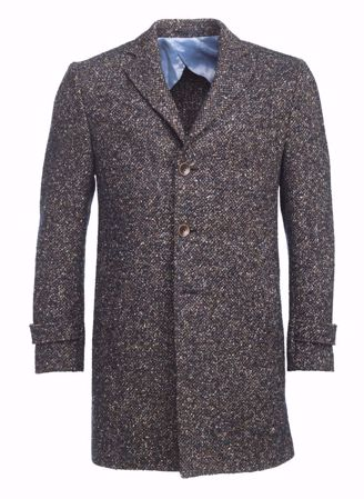 HANSEN&JACOB-FLAKE COAT-MULTICOLOUR