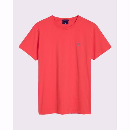 GANT-THE ORIGINAL T-SHIRT-WATERMELON-RED