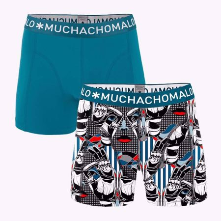 MUCHACHOMALO-1010 PROST 01 BOXER 2PK PRINT/SOLID-PRINT/SOLID-MEDIUM