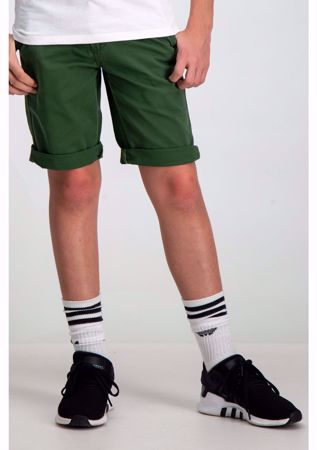 GARCIA KIDS-GREEN SHORTS-GREEN