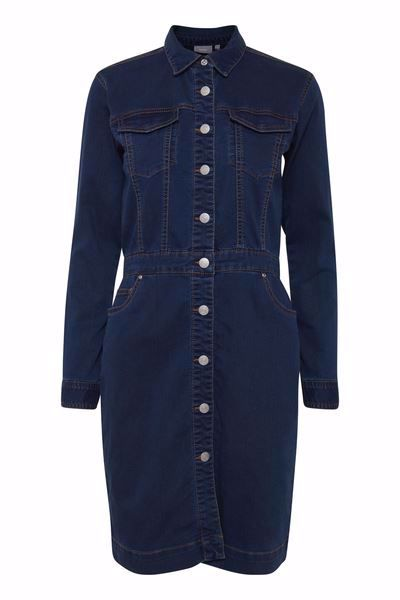 B.Young-Lika dress-Blue Denim