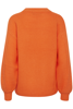 B.Young-Melissa diagonal jumper-Tulip Orange