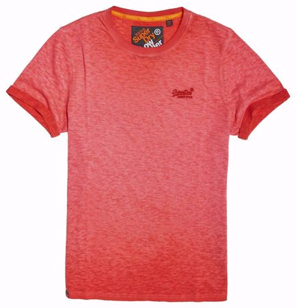 Superdry Rød T-skjorte - Sugar Red