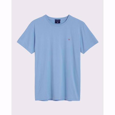 GANT-THE ORIGINAL T-SHIRT-CAPRI-BLUE