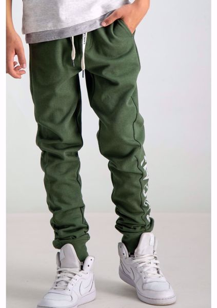 GARCIA KIDS-GREEN SWEATPANTS-GREEN