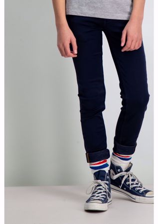 GARCIA KIDS-DARK BLUE SUPER SLIM FIT PANTS-BLUE